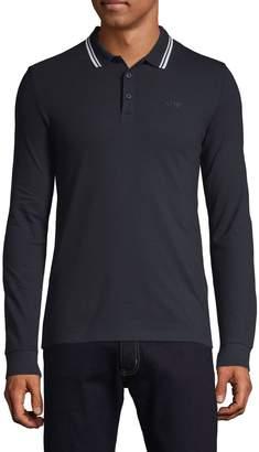 Armani Jeans Long-Sleeve Polo