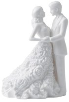 Monique Lhuillier Waterford 'Modern Love' Porcelain Cake Topper