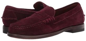 Sebago Dan Suede (Bordeaux) Women's Shoes