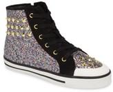 Ash Toddler Girl's Lita Roe Glittery High Top Sneaker