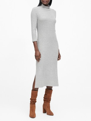 Banana Republic Luxespun Turtleneck Dress