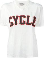 Cycle v-neck print T-shirt - women - Cotton - L