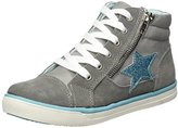 Clarks Indigo Girls' 451 051 Low-Top Sneakers grey Size: 1