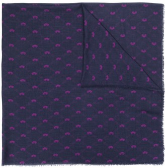 Bally Floral Pattern Scarf