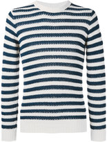 Nuur striped jumper - men - Cotton - 46