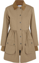RED Valentino Cotton Mackintosh coat
