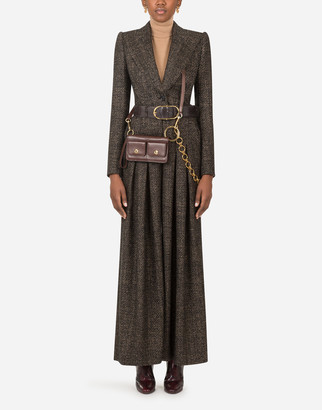 Dolce & Gabbana Suit In Micro Tweed