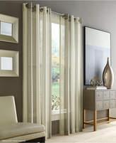 """J Queen New York Roosevelt Sheer 50"""" x 63"""" Grommet Curtain Panel"""