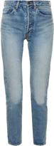 Saint Laurent High-rise tapered-leg jeans