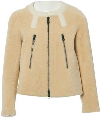 Chloé Beige Leather Jackets