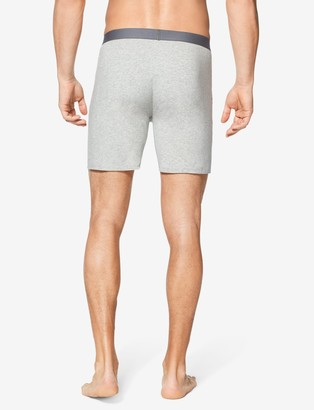 Tommy John Cool Cotton Relaxed Fit Boxer, Solid Heather
