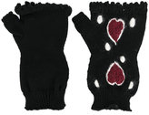 I'M Isola Marras fingerless knitted gloves