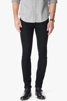 7 For All Mankind Foolproof Denim The Paxtyn Skinny In Towne Black