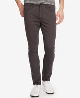 Kenneth Cole New York Men's Flex Denim Gray Wash Skinny Jeans