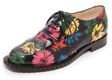 Moschino Printed Oxfords