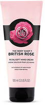 The Body Shop British Rose Petal-Soft Hand Cream