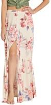 Billabong Women's Starlit Sky Floral Print Maxi Skirt