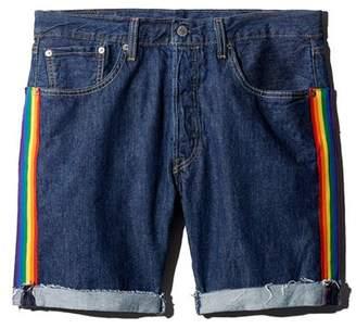 Levi's 501 Taper Regular Fit Denim Cutoff Shorts