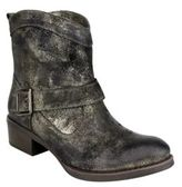 Naughty Monkey Metalicah Leather Ankle Boots