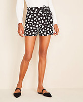 Ann Taylor The Petite Tie Waist Short