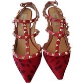 Valentino Rockstud calfskin sandals