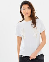 MinkPink Tropical Punch Foil Print Tee