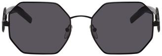 Marni Black Hexagonal Sunglasses