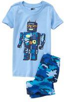 Crazy 8 Robot Two-Piece Shortie Pajama Set