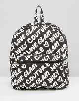 Juicy Couture Grafitti Backpack