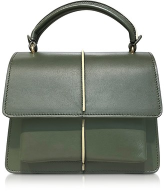 Marni Smooth Leather Top Handle Attache Bag
