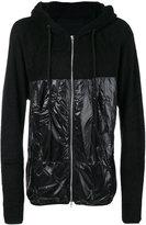 Julius panelled hoodie