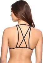 Billabong Women's Sol Searcher Strappy Back Triangle Swimsuit Bikini Top