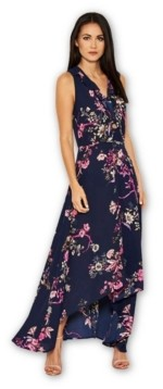AX Paris Floral Dip Hem Dress