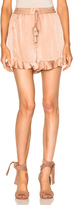 Zimmermann Sueded Flutter Short