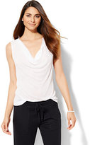 New York & Co. Lounge - Cowl-Neck Tank Top