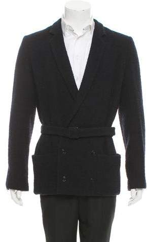 Chanel Bouclé Double-Breasted Blazer