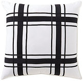 Daniel Cremieux Delaney Plaid Linen Twill Square Pillow
