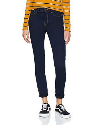 Jennyfer Women's 10dgexc Straight Jeans, (Blue 15.0), (Size: 38.0)