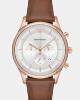 Emporio Armani Brown Chronograph Watch