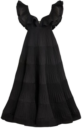 Zimmermann The Lovestruck Pleated Gown