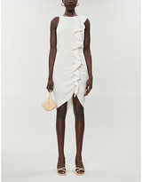 Pinko Bebyblade crepe mini dress
