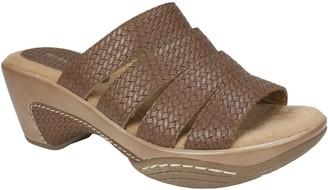 Rialto Textured Slide Sandal Clogs - Valora
