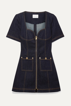 Alice McCall Bloomsbury Denim Mini Dress - Dark denim
