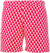 Orlebar Brown Red patterned Gilot swim shorts
