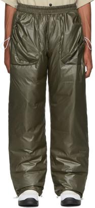 A. A. Spectrum Khaki Down String Trousers