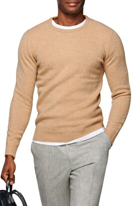 Suitsupply Brushed Wool Sweater