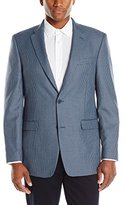 Tommy Hilfiger Men's Two Button Houndstooth Pattern Sport Coat