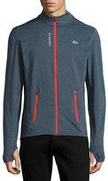 Lacoste Sport Zip-Front Sweater