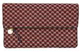 Clare Vivier Marquis Foldover Clutch - Red