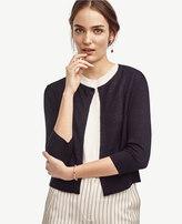 Ann Taylor Linen Blend Dress Cardigan